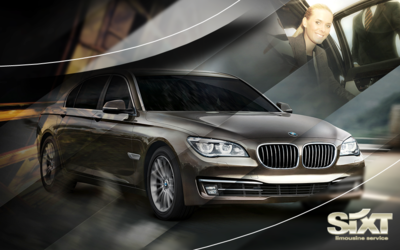 Sixt limousine service – Chauffeur service.  15% discount on your trip. Get your offer via travelagent@sixt.com.