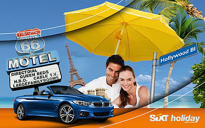 Sixt holiday – rentals for vacations.  Up to 20% discount on your private holiday rental. Book HERE.